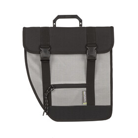 Basil Tour Single Bike Pannier left grey/black
